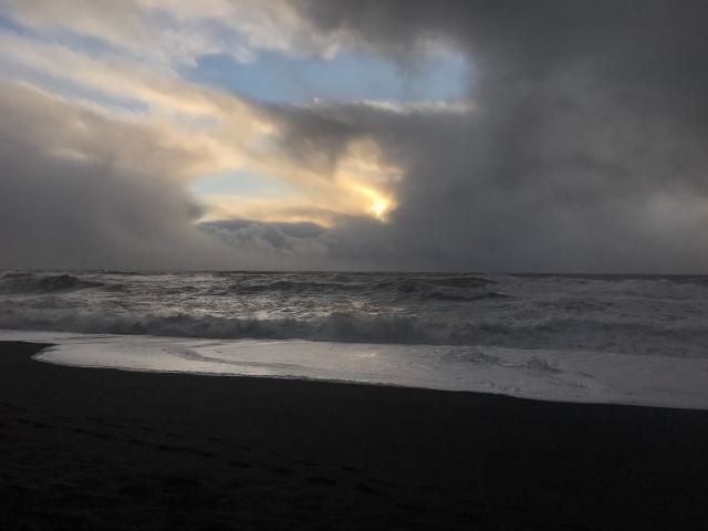 Iceland's Black Sand Beach